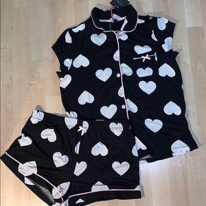 CYNTHIA ROWLEY Hearts Pajama Set